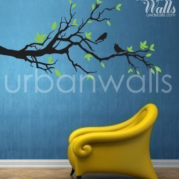 Vinyl Wall Sticker Decal Art - Tree Branch