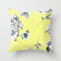 spring time; Throw Pillow by Pink Berry Patterns