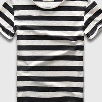 60's Stripe Cali Mens T-Shirt - 4 Colors