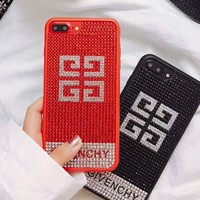 Givenchy 2018 New Fashion Trendy iPhone 6/7/8 Phone Case Cover F-OF-SJK