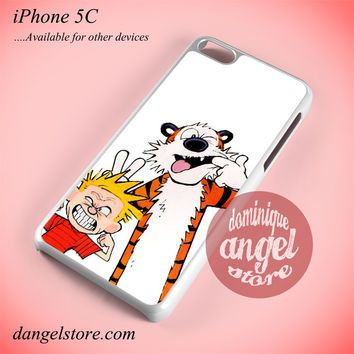 Bff Calvin And Hobbes Phone case for iPhone 5C and another iPhone devices