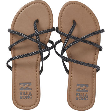 Billabong - Crossing Over Sandals | Off Black