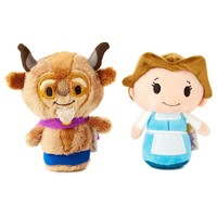 itty bittys® Beauty and the Beast 25th Anniversary Set With Belle and Beast Stuffed Animals