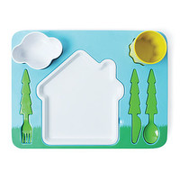 Child's Landscape Dinner Set