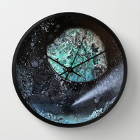 Frozen Landscape Wall Clock by Lunacy Eavee