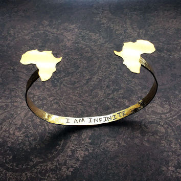 Africa Secret Message Arm Cuff