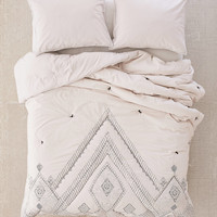 Evie Embroidered Comforter | Urban Outfitters