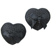 Bow Tie Black Pasties