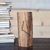 Jackson Repurposed Elm Clock
