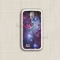 Galaxy S4 Case, Cute Space Nebulae Galaxy Samsung S4 cases, Galaxy S4 Hard Cover, Designer Coolest Unique Case for Galaxy S4