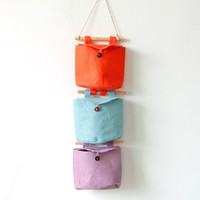 Cotton Linen Decoration 6-color Bags Storage Home Decor [6281885830]