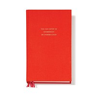 Never Overdressed Journal in Red by Kate Spade New York - FINAL SALE