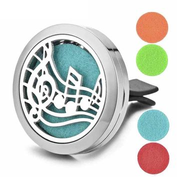 Aromatherapy Car Diffuser Essential Oils Stainless Steel Tree Of Life