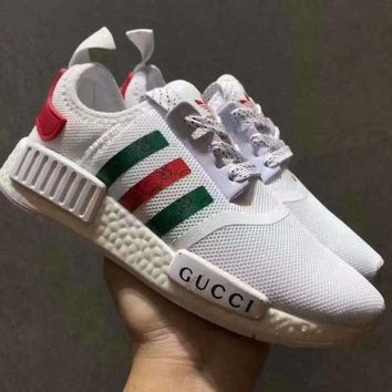 Adidas x GUCCI NMD Fashion Women Casual Running Sneakers Sport Shoes-2