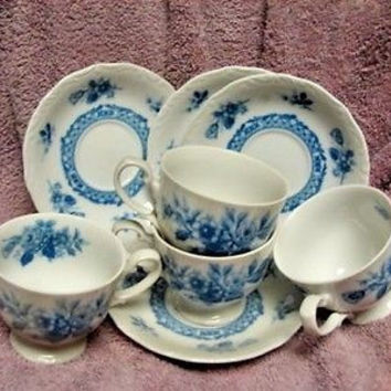 Mikasa, China Roselie L9079 set 4 cup and saucer