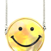SMILEY GOLD BAG