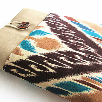 Ipad case, Ipad cover, Ipad sleeve with pocket, Padded ,Ipad 1, Ipad 2, Ipad 3, Ipad 4-Tribal