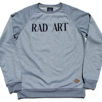 Altru Apparel Rad Art  mens sweatshirt
