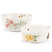 Butterfly Meadow® 2-piece Nesting Bowl Set by Lenox