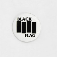 Black Flag- Bars pin (pinA8)