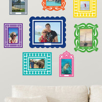Frame of Deference Wall Decal Set in Brights