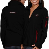 Georgia Bulldogs Columbia Women's Give & Go Full-Zip Jacket – Black