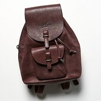 John Fluevog Womens Harvey Backpack - Oxblood One