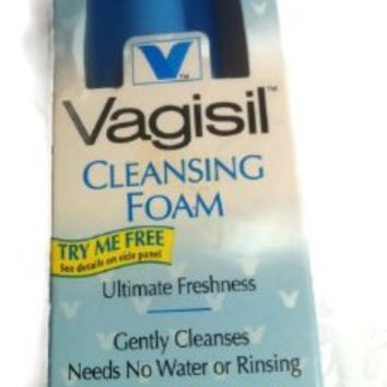 Vagisil Cleansing Foam, Fragrance Free, 1.6 Ounces