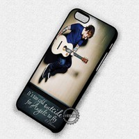Angelic Quotes Ed Sheeran - iPhone 7 6 Plus 5c 5s SE Cases & Covers