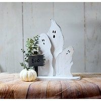 Reclaimed Wood Ghosts, Halloween Decor