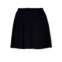 RED Valentino - Pleated Silk Mini Skirt