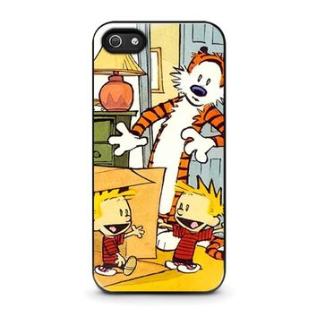CALVIN AND HOBBES DUPLICATOR iPhone 5 / 5S / SE Case Cover