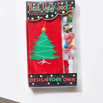 Real Ugly Socks Sweater Sock Do-It-Yourself Box Kit - Urban Outfitters