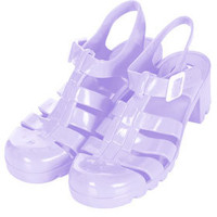 NINA2 Heel Gladiator Jellies - View All  - Shoes