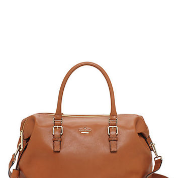Kate Spade Cobble Hill Luxe Travel Sami Warm Cognac ONE