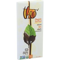 Theo Chocolate Organic 70% Dark Chocolate Bar Mint - 3 oz