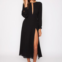 Stone Cold Fox || Paris dress in black