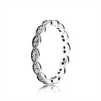 Pandora Sparkling Leaves Ring at Von Maur