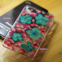 Unique real Flowers Dried pressed PInk Daisies cases iphone 4 case, iphone 4s case iphone 5s case iphone 5c case iphone 5 samsung s3 cases