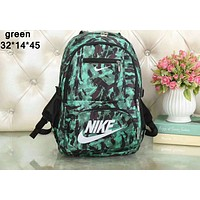 NIKE 2018 new couple models men and women fashion casual shoulder bag F-A36H-MY green