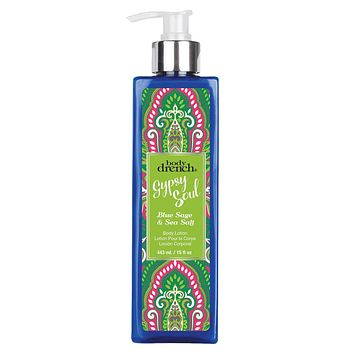 Gypsy Soul Exotic Blue Sage & Sea Salt Body Lotion By Body Drench 16 Fl Oz Be Swept Away!