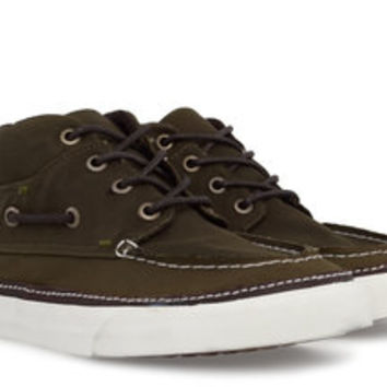 vans CHUKKA DEL BARCO (waxed cotton) VN-0L9P746 | gravitypope