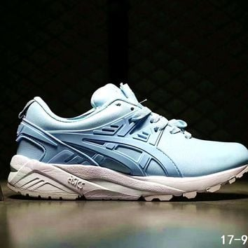 asics gel kayano trainer women men running sport shoes sneakers b ssrs cjzx blue one nice  number 1