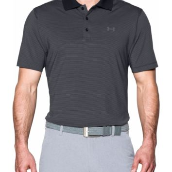 Under Armour UA Men's Release Golf Polo GRAY/BLACK- Size 2XL/XL/Large - NWT
