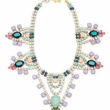 Doloris Petunia | Yalta Swarovski Crystal Necklace