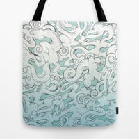 Entangled Clouds Tote Bag by Mat Miller
