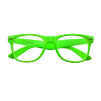 Colorful Summer Party Style Clear Lens Glasses Frames W27