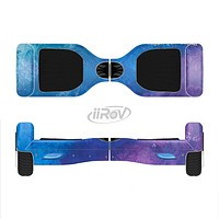 The Blue & Purple Pastel Full-Body Skin Set for the Smart Drifting SuperCharged iiRov HoverBoard