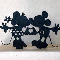 Wedding Cake Topper - Minnie and Mickey