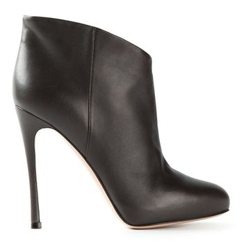 Gianvito Rossi almond toe ankle boots